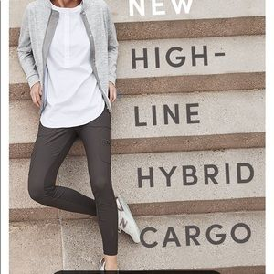 Athleta highline hybrid cargo 2P